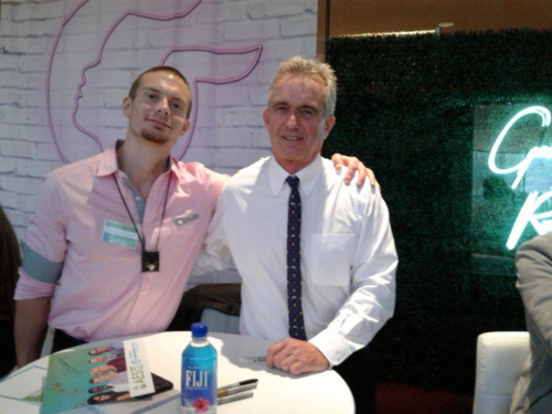With the renowned Robert Kennedy Jr. - September 2017