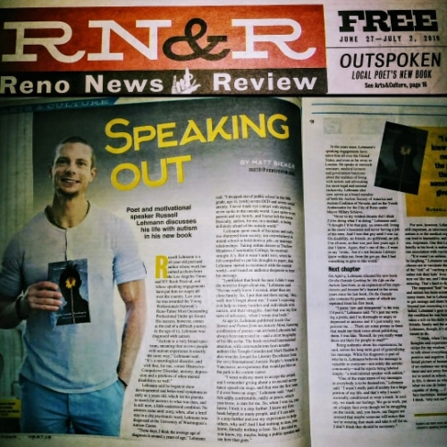 Russell Lehmann Motivational Speaker Reno News and Review - June 2019